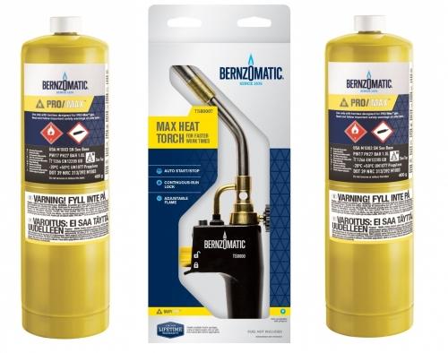 Bernzomatic TS8000 + 2ks PRO/MAX