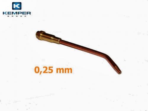 Mini autogén-mikro hubica 0,25 mm
