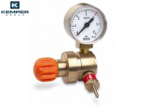 Mini autogén redukčný ventil 7/16˝ s manometrom