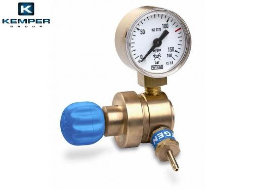 Mini autogén redukčný ventil kyslík s manometrom M10x1