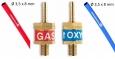 Mini autogén spätný ventil pre kyslík i plyn
