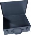 Plechový kufrík na prístroje a nástroje 33,5 x 11,5 x 25,5 cm