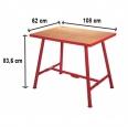Ridgid Montážny stôl so zverákom 120mm