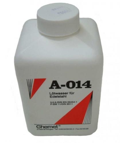 Spájkovacia voda na nerez A-014, 1000ml