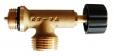 Uzatvárací ventil na 2 kg fľašu W 21,8 x 1/14˝